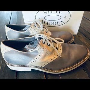 Men's Steve Madden leather dress shoes